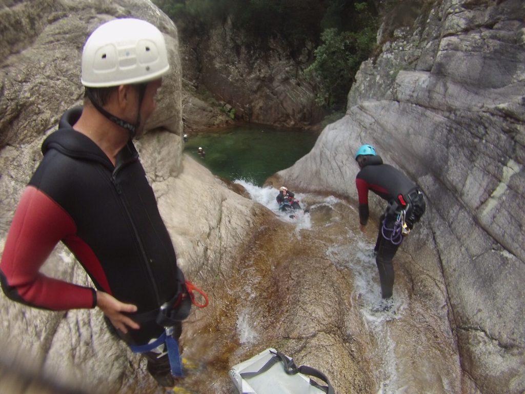 korsika-canyoning