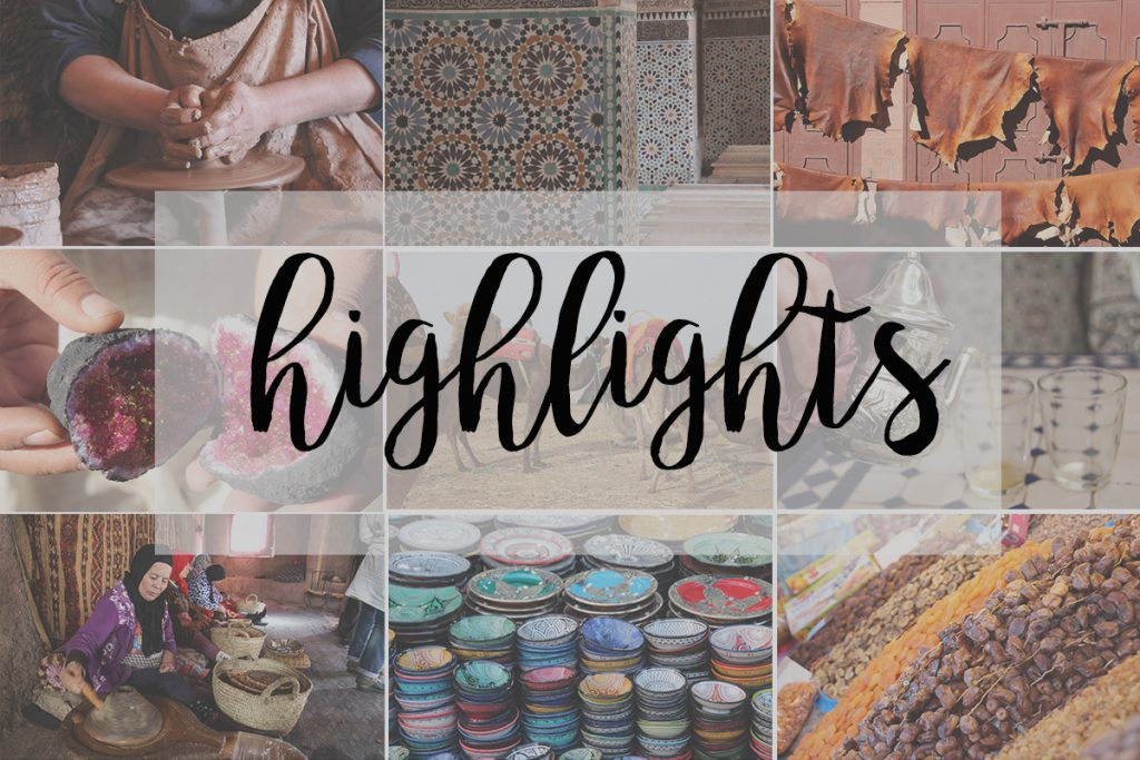 Highlights-Marrakesch