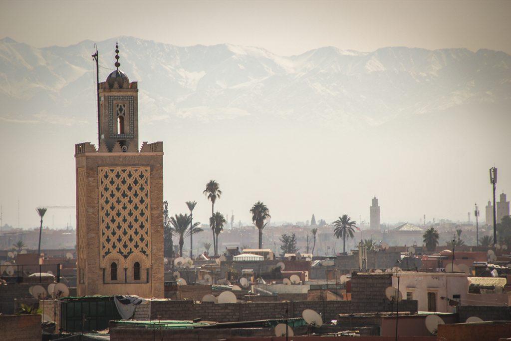 Marrakesch-Ueberblick